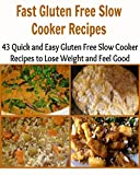 Fast Gluten Free Slow Cooker Recipes: 43 Quick and Easy Gluten Free Slow Cooker Recipes to Lose Weight and Feel Good: (fasten gluten free slow cooker recipes)