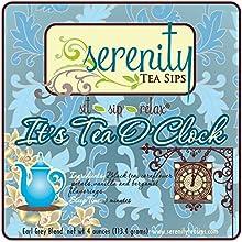 Serenity Tea Sips It39s Tea O39Clock - 4 oz Earl Grey black tea with vanilla and bergamot notes