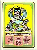Isle Of Wight Festival 1970 (30x40cm Art Print)