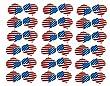 12 Set (36pcs) Standard Wide Size Polyester Dart Flights PVC Flights