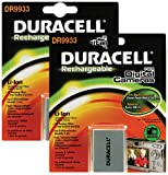 Duracell Replacement Digital Camera Battery for Canon NB-7L - Twin Pack