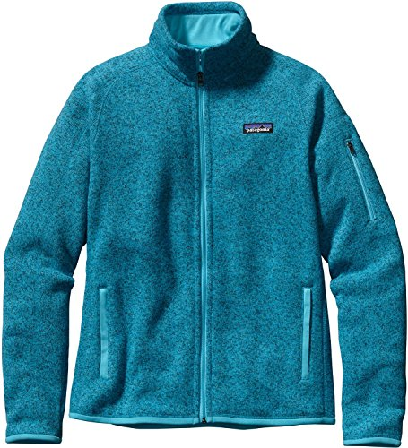Patagonia, Giacca-felpa in pile Donna Better, Verde (Ultramarine), M