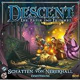 Heidelberger HEI0617 - Descent 2. Edition - Schatten von Nerekhall, Erweiterung, Brettspiel