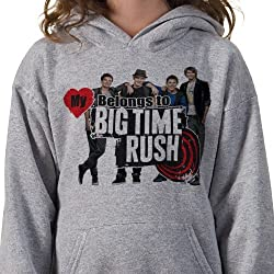 Big Time Rush: My Heart Belongs Cast Hoodie - Youth