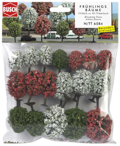 busch-environnement-bue6584-modelisme-ferroviaire-18-arbres-printaniers-n-tt