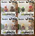 The Muppets: Complete Set of 8 Minimates Figures Custom Bundle