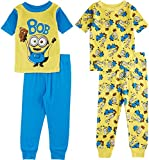 Minions-Little-Boys-Toddler-Minion-Bob-4-Piece-Pajama-Set