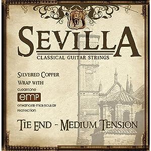 Cleartone Sevilla Classical Strings TIE End Medium Tension