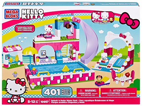 Mega Bloks Hello Kitty Splash N' Swim Water Park JungleDealsBlog.com