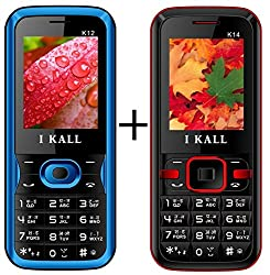 I KALL (K12 Blue+K14 Red) Set of Two Mobile Combo
