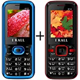 I KALL (K12 Blue+K14 Red) Set Of Two Mobile Combo
