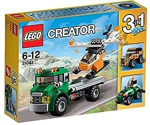 LEGO Creator 31043: Chopper Transporter Mixed