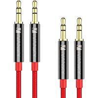 2-Pack iVanky Nylon Braided 3.5mm Audio Cable 4ft/1.2M