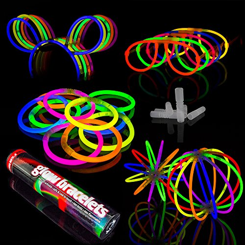 100 Glowhouse Premium Glow Stick Party Pack