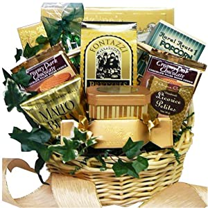 Art of Appreciation Gift Baskets  Sweet Sensations Cookie, Candy and Treats Gift Basket SMALL