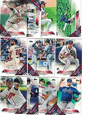 Atlanta Braves / Complete 2016 Topps Series 1 Baseball Team Set. FREE 2015 Topps Braves Team Set WITH PURCHASE!