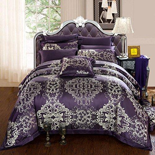 Dark Purple Bedding Sets front-1057622