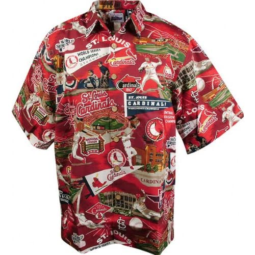 Amazon.com: St. Louis Cardinals Hawaiian Shirt