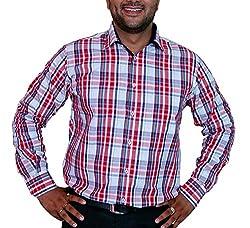 True Men Men's Casual Shirt (Ch_Wrb._Multicolor_X-Large)