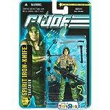 G.I. Joe Pursuit of Cobra Exclusive 3 3/4 Inch Action Figure Spirit IronKnife ~ G. I. Joe