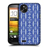 Head Case Designs Mediterranean Dazzling Blue Pattern Protective Snap-on Hard Back Case Cover for HTC Desire X