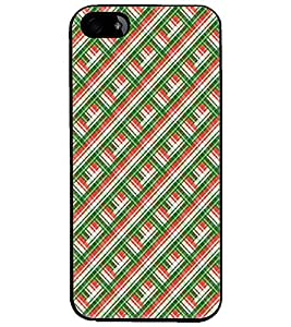 PrintDhaba Pattern D-5251 Back Case Cover for APPLE IPHONE 4S (Multi-Coloured)