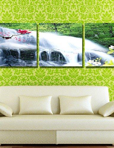 GG stampe manifesto albero paesaggio delle pitture a olio di vita stampa su tela 3pcs / set (senza cornice) , painting