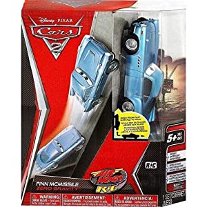 Disney Cars 2 Finn Mcmissile Zero Gravity Remote Control Vehicle
