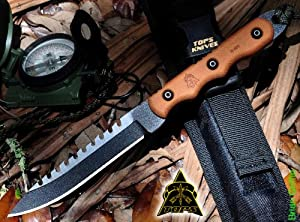 TOPS Ranger Bootlegger 2 Tactical Fighting Boot Knife RBL-02 by Generic
