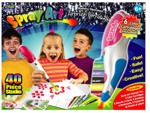 Classic Spray Art Stationery Studio - Buy Classic Spray Art Stationery Studio - Purchase Classic Spray Art Stationery Studio (Stylus, Toys & Games,Categories,Arts & Crafts)