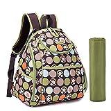 De viaje de beb� Bebamour bolsas de pl�stico para la de copa de vino con de pa�ales de en los cambios de la mochila de verde verde