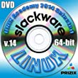 Slackware 14 Linux DVD 64-bit Full Installation Includes Complimentary UNIX Academy Evaluation Exam