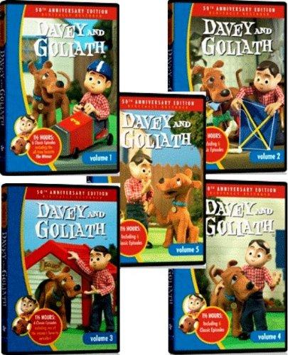 Davey and Goliath 5-DVD Set