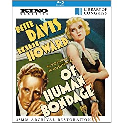 Of Human Bondage: Kino Classics Remastered Edition [Blu-ray]