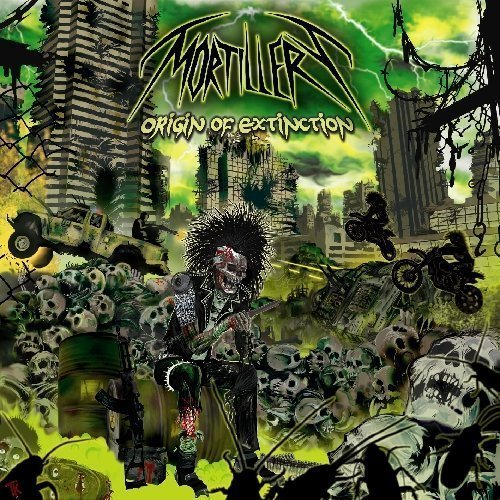 Origin of Extinction by Mortillery (2013) Audio CD
