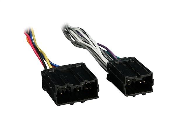 Metra 70-9220 Radio Wiring Harness for Volvo 93-08 Power/4 Speaker (Color: BLACK, Tamaño: samsung)