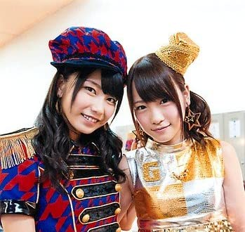 AKB48 公式生写真 ハート・エレキ 店舗特典 ぐるぐる王国 【横山由依&川栄李奈】