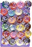 Linda's Lollies Gourmet Lollipops 24 Count Box Assorted Flavors - Nut, Gluten & Dairy Free - No Fat