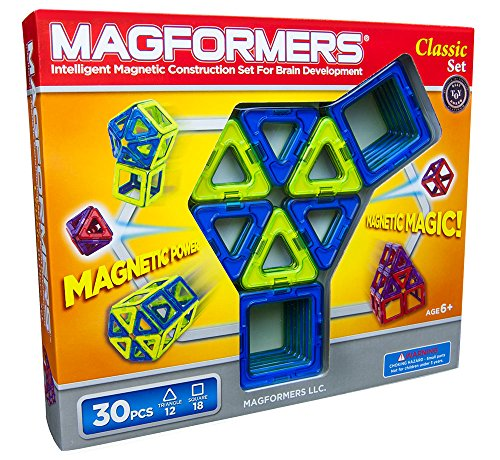 Magformers Classic 30 Piece Set (Colors May Vary) front-34786