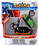 Pokemon X & Y Clip n Carry Pokeball Houndoom & Dusk Ball Figure Set (Tomy) by Pokemon XY Toys, Action Figures, Playsets & Plush