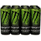 Monster Extra Strength Energy Drink, Super Dry, 12 Ounce (Pack of 12)