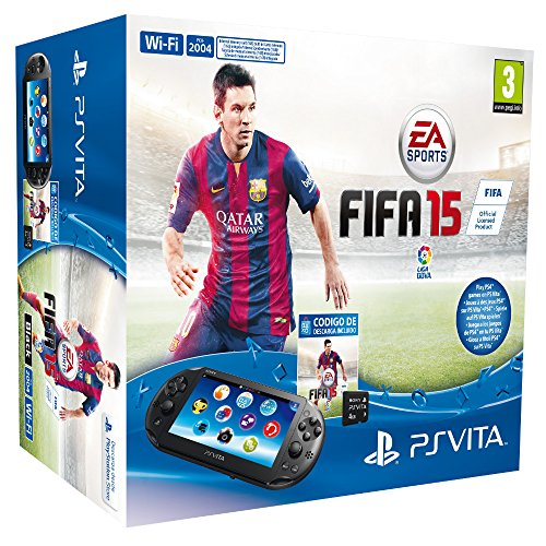 PlayStation Vita - Consola + FIFA 15 Voucher + MC 4 GB