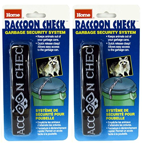 Raccoon Check Garbage Can Security System (Pack of 2) (Garbage Can Lock compare prices)