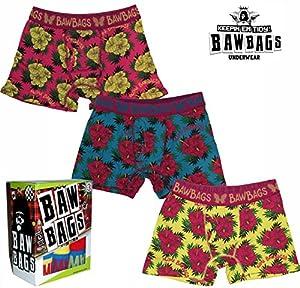 BAWBAGS 3 PACK BOXERS Aloha S