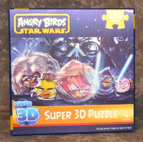 Angry Birds Star Wars Super 3D 150 pc Puzzle - 1
