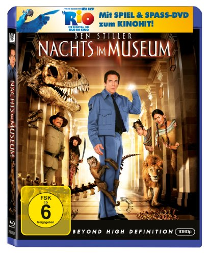 Nachts im Museum (+ Rio Activity Disc) [Blu-ray]