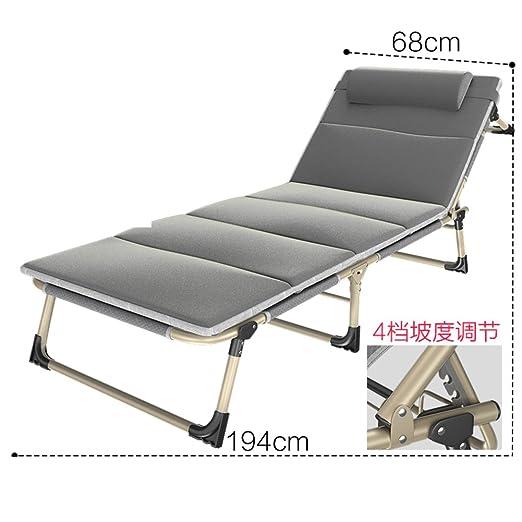 Lit Pliant/Sieste Unique/Lit Simple/Lit De Camp/Lit De Plage/Escort Bed/Canapé/Déjeuner De Bureau-A