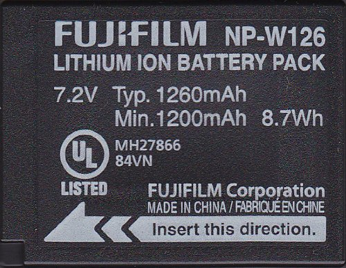 Fujifilm Replacement Battery X-PRO1 NP-W126