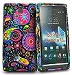 Multi jelly fish Flower design design silicone case cover for Sony xperia u St25i