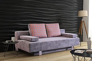 Sofa Sergio mit Schlaffunktion Schlaffcouch Couch Polstersofa Polstercouch 03